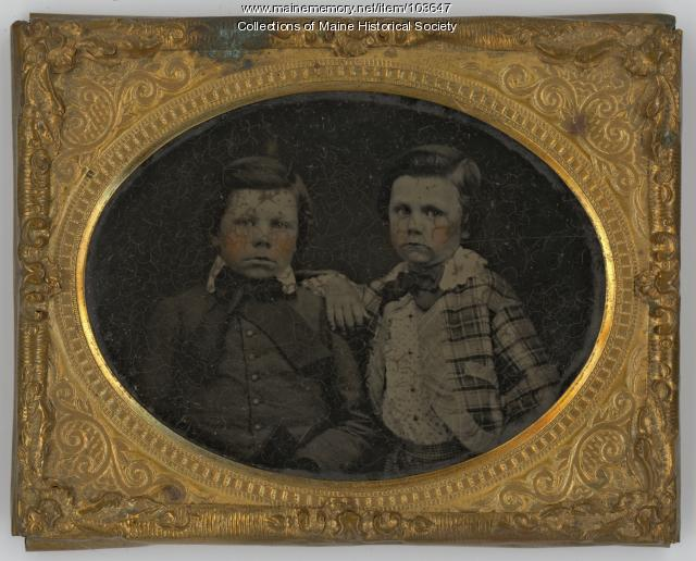 The Fowler brothers, Unity, ca. 1860
