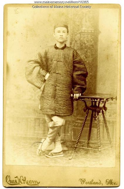 Chinese man, Augusta, ca. 1890