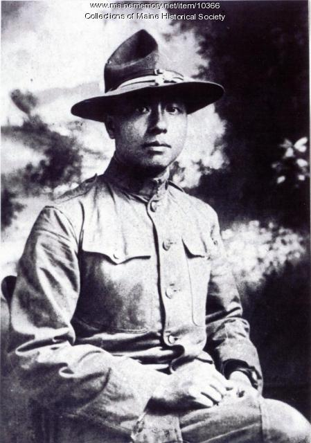 Dogon Goon in U.S. Army uniform, ca. 1918