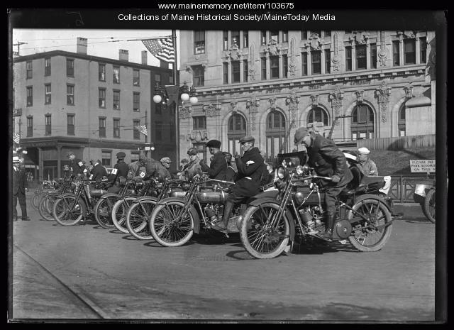 Motorcycle race, Portland, ca. 1920