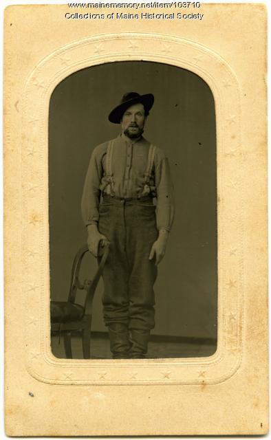 Larry Conners, Bangor, ca. 1865