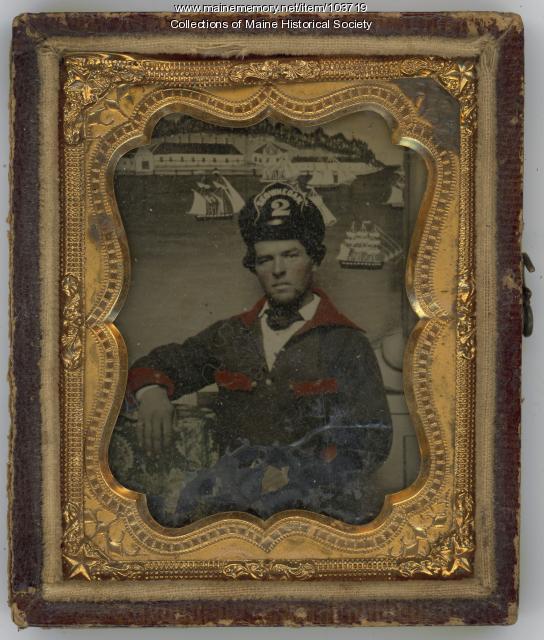 Fireman, Skowhegan, ca. 1860