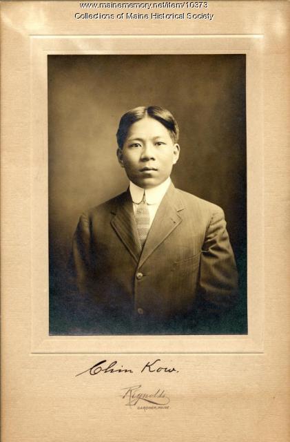 Chin Kow, Portland, 1911