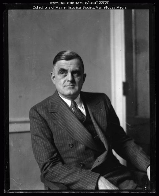 Maine Governor Lewis Orin Barrows, ca. 1925