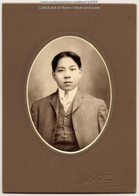 Chinese Sunday School student, Portland, ca. 1910