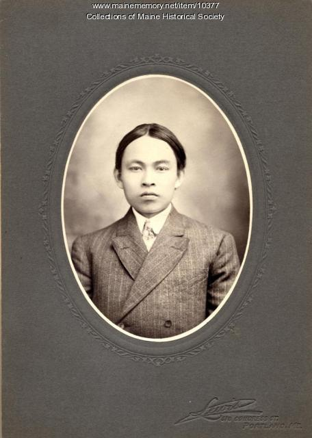 Portrait of Chinese man, Portland, ca. 1910