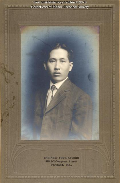 Chinese immigrant, Portland, ca. 1910
