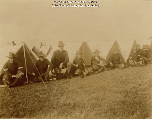 Soldiers, Augusta, 1898