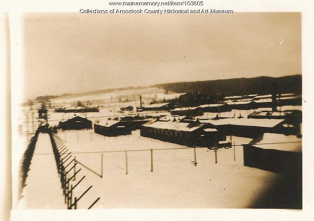 Camp Houlton POW area, Houlton, ca. 1945