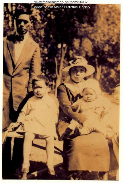 The Wong family, Portland, 1923