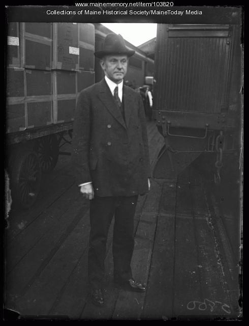 Vice President Calvin Coolidge, Portland, 1922
