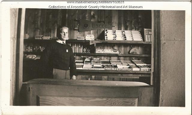 Civilian Conservation Corps store, ca. 1937