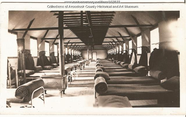 Civilian Conservation Corp camp bunk house, ca. 1937