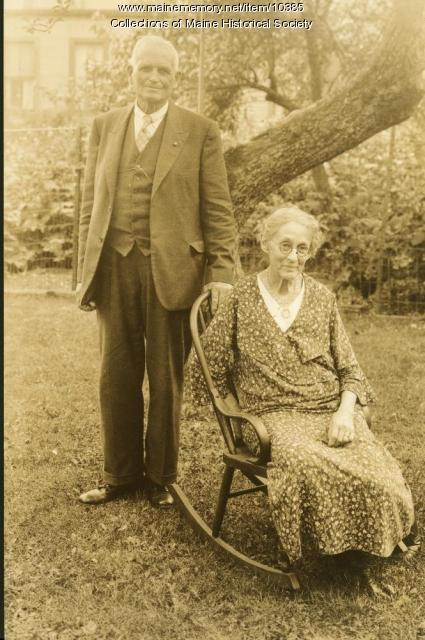 Elmer E. and Mae Fall Parmenter