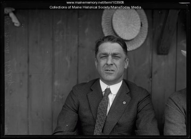 St. Louis Cardinals bench coach, Branch Rickey, ca. 1920