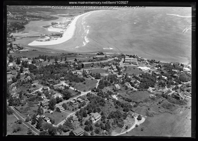 Aerial view of Ogunquit, ca. 1930