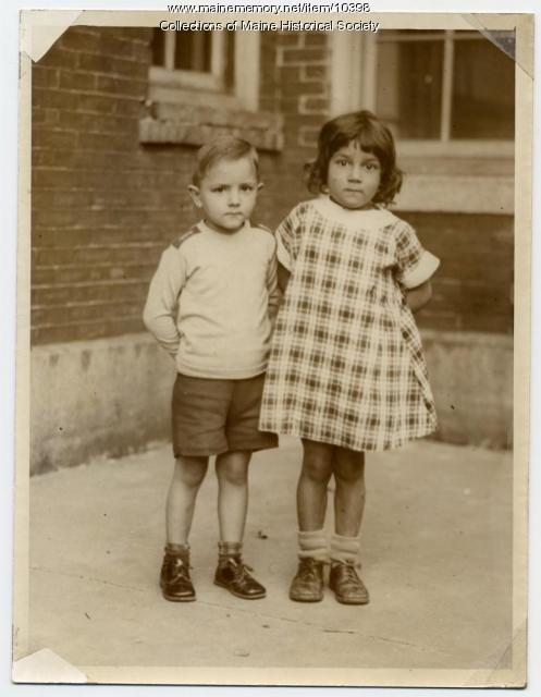 Romanow twins, Portland, ca. 1930