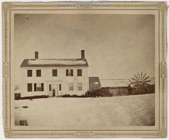 Weston Homestead, Madison, ca. 1883