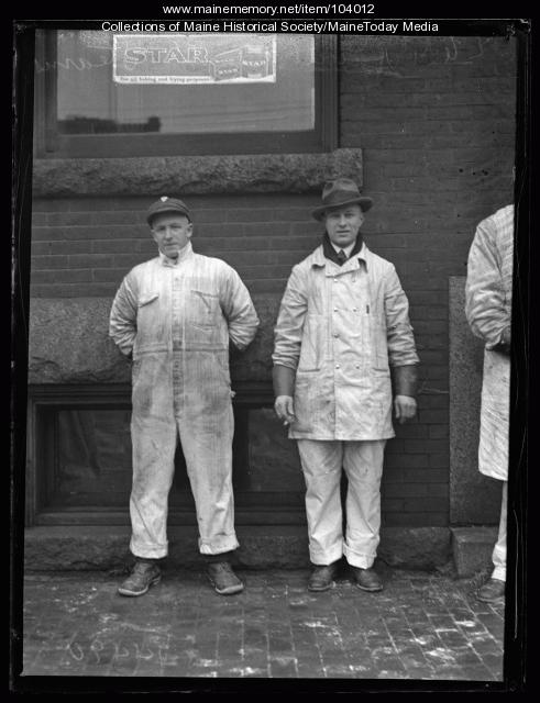 Raymond C. Stearns and Robert H. Jewett, Portland, ca. 1925