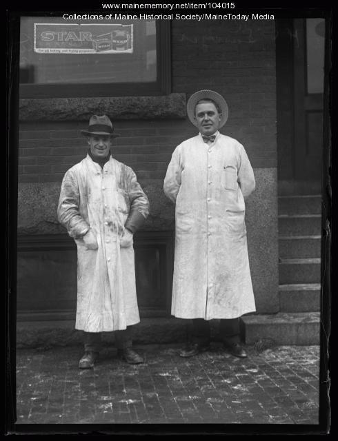 H.C. Sawyer and Christian T. Christensen, Portland, ca. 1925