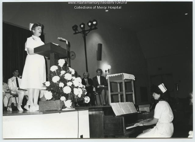 Capping ceremony, Portland, ca. 1980