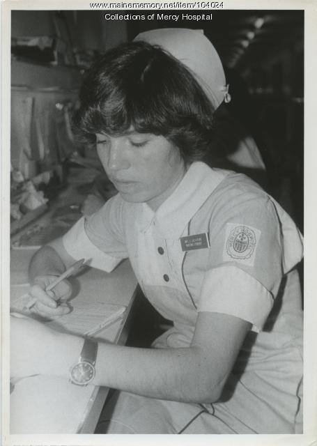 Mrs. Salvatore, Portland, ca. 1980