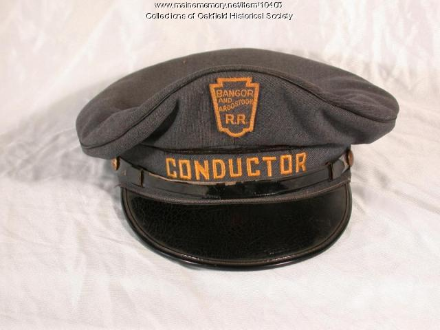 Bangor and Aroostook Conductor's hat, 1960