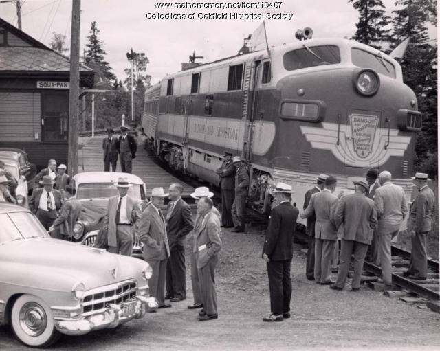Special Stopped at Squa Pan, c. 1955