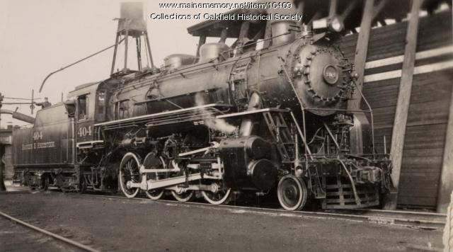 Bangor & Aroostook engine 404