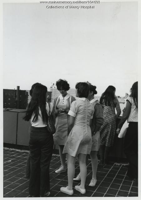 Mercy Hospital staff, Portland, 1978