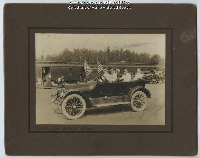 Labor Day Parade, Millinocket, 1914