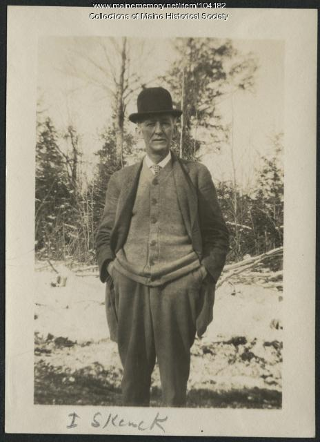 Ingleton Schenck, Millinocket, ca. 1915