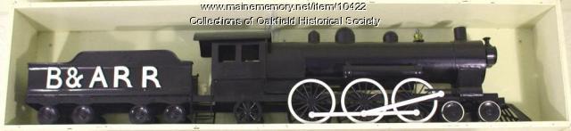 Bangor and Aroostook Railroad's Oakfield Yard weathervane