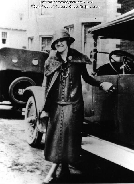Margaret Chase, Skowhegan, 1927