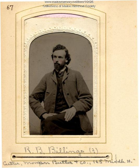 Robert B. Billings, Portland, 1880