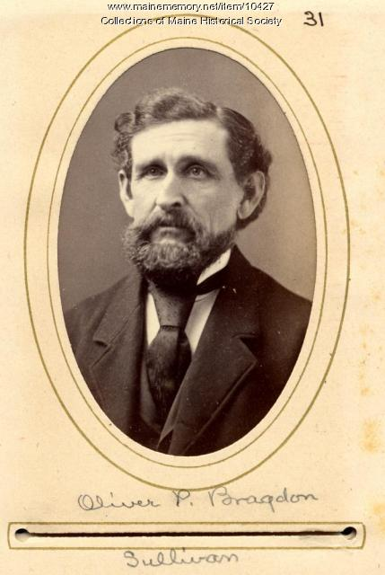 Oliver P. Bragdon, Sullivan, 1880