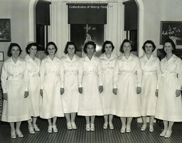 Queen's Hospital School of Nursing graduates, Portland, 1938