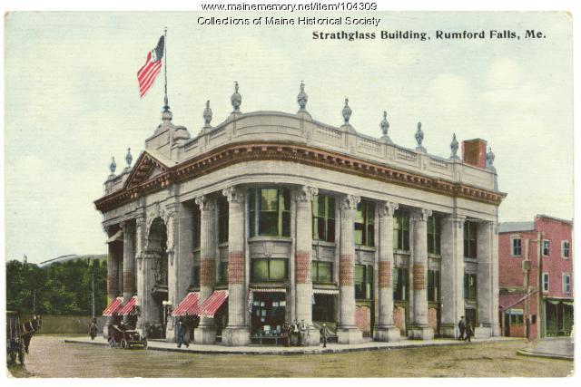 """Strathglass Building,"" Rumford Falls, 1912"