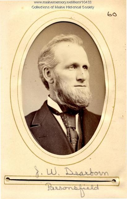 Jeremiah W. Dearborn, Parsonsfield, 1880