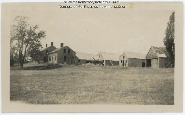 Abandoned Farm in Troy, ca. 1939