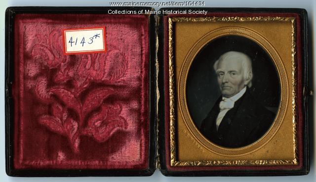 Joseph Leland of Saco, ca. 1850