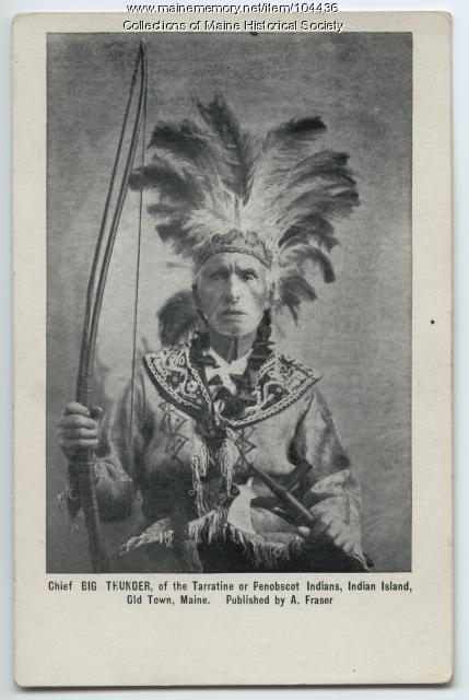 Frank Loring, Indian Island, ca. 1901