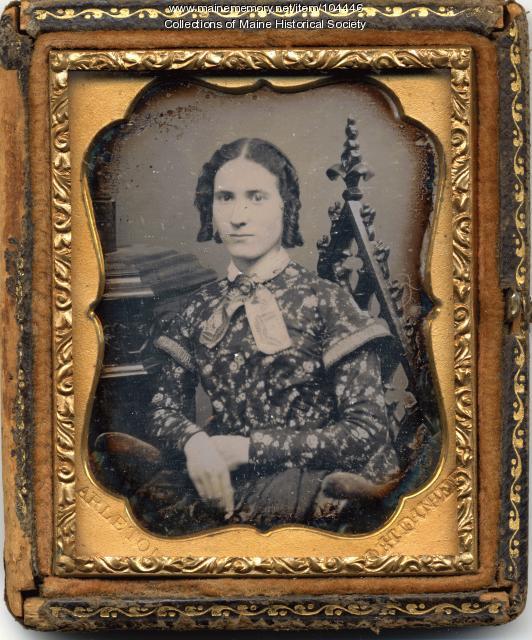 Samuel L. Carleton daguerreotype, Portland, ca. 1852