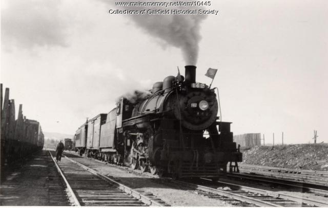 Bangor and Aroostook Railroad engine 142