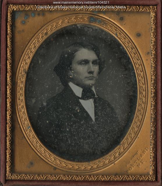 Portrait of Walter H. Pomeroy, Portland, ca. 1855