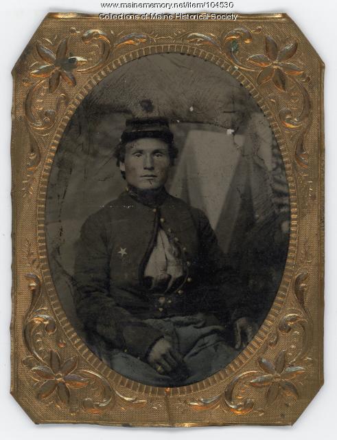 Union soldier, ca. 1863