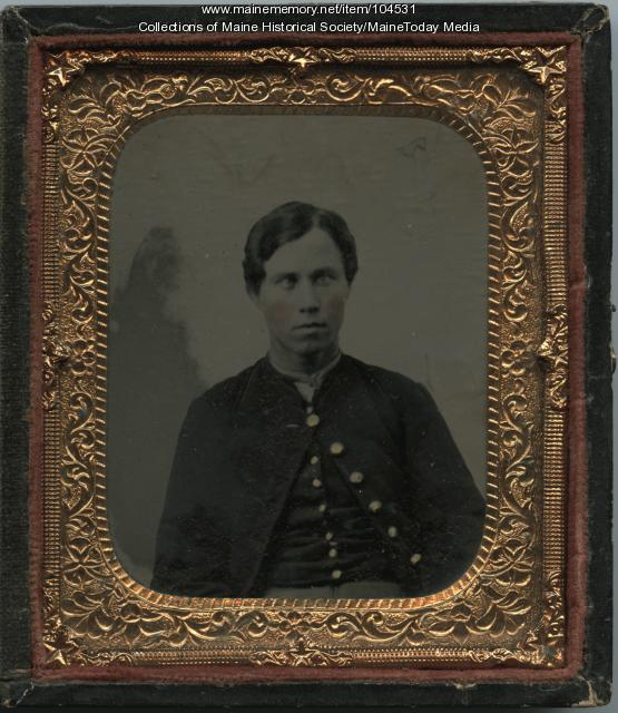John Mahoney of Augusta, ca. 1863