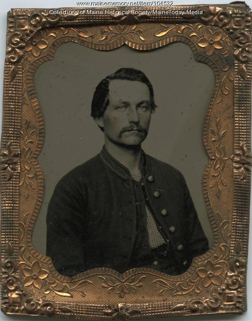 George Follett of New Sharon, ca. 1865