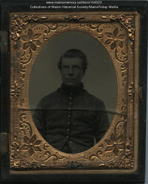 George Allen Soule of Yarmouth, ca. 1861