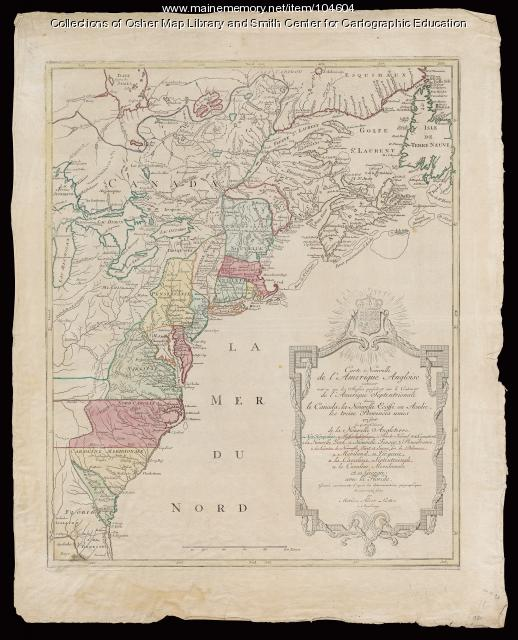 The American Eastern Seaboard, 1777